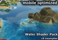 unity3d water shader pack 1.1 水面效果海水材质
