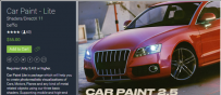 unity 3d Car Paint Shaders Asset 2.1 汽车车漆材质_2939